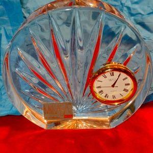 Mikasa absolutely gorgeous glass clock